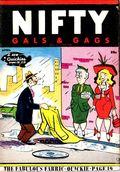 Nifty Gals & Gags (1947-1958 Dearfield Publishing) Apr 1958