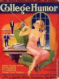 College Humor (1921-1934 Collegiate World Publishing) Vol. 4 #1