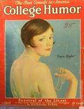 College Humor (1921-1934 Collegiate World Publishing) Vol. 5 #1