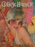 College Humor (1921-1934 Collegiate World Publishing) Vol. 12 #1