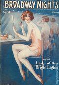 Broadway Nights (1928-1932 King Publishing) Magazine Vol. 1 #10