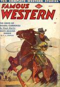Famous Western (1937-1960 Columbia Publications) Pulp Vol. 8 #3