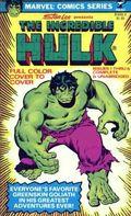 Incredible Hulk PB (1978 Pocket Books) Marvel Comics Series 1-1ST