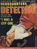 Headquarters Detective (1940) True Crime Magazine Vol. 3 #8