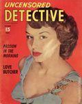 Uncensored Detective (1942) True Crime Magazine Vol. 8 #4