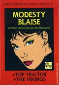 Modesty Blaise TPB (1981-1986 First American Edition Series) 1-1ST