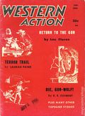 Western Action Novels Magazine (1936-1960 Columbia) 1st Series Pulp Vol. 22 #4