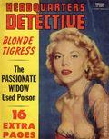 Headquarters Detective (1940) True Crime Magazine Vol. 10 #4