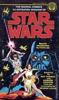 Marvel Comics Illustrated Version of Star Wars PB (1977 Del Rey Books) 1-1ST