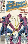 Avengers West Coast (1985) Mark Jewelers 27MJ