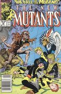 New Mutants (1983 1st Series) Mark Jewelers 59MJ