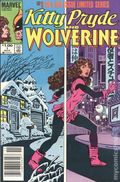 Kitty Pryde and Wolverine (1984) Canadian Price Variant 1