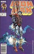 Iron Man (1968 1st Series) Mark Jewelers 232MJ