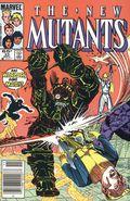 New Mutants (1983 1st Series) Mark Jewelers 33MJ