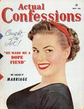 Actual Confessions (1953-1955 Manvis Publications) Magazine Vol. 1 #1
