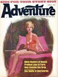 Adventure (1910-1971 Ridgway/Butterick/Popular) Pulp Apr 1966