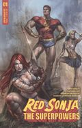 Red Sonja the Superpowers (2021 Dynamite) 1A