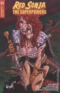 Red Sonja the Superpowers (2021 Dynamite) 1F