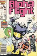 Alpha Flight (1983 1st Series) Mark Jewelers 36MJ
