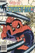 Web of Spider-Man (1985 1st Series) Mark Jewelers 4MJ