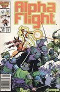 Alpha Flight (1983 1st Series) Mark Jewelers 34MJ