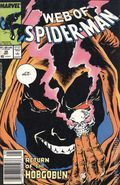 Web of Spider-Man (1985 1st Series) Mark Jewelers 38MJ