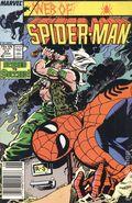 Web of Spider-Man (1985 1st Series) Mark Jewelers 27MJ