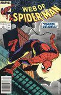 Web of Spider-Man (1985 1st Series) Mark Jewelers 49MJ