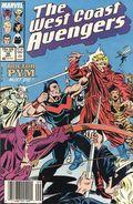 Avengers West Coast (1985) Mark Jewelers 36MJ