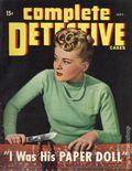 Complete Detective Cases (1939-1953 Timely) True Crime Magazine Vol. 8 #2