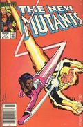 New Mutants (1983 1st Series) Mark Jewelers 17MJ