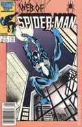 Web of Spider-Man (1985 1st Series) Mark Jewelers 22MJ