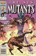 New Mutants (1983 1st Series) Mark Jewelers 44MJ