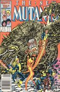 New Mutants (1983 1st Series) Mark Jewelers 47MJ