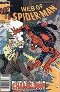 Web of Spider-Man (1985 1st Series) Mark Jewelers 54MJ