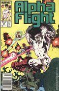 Alpha Flight (1983 1st Series) Mark Jewelers 51MJ