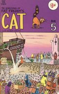 Adventures of Fat Freddy's Cat (1977-1992 Rip Off Press) #5, 2nd Printing