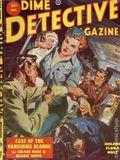 Dime Detective Magazine (1931-1953 Popular Publications) Pulp Dec 1952