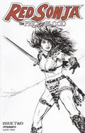 Red Sonja Price of Blood (2020 Dynamite) 2F