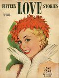 Fifteen Love Stories (1949-1955 Fictioneers) Pulp Vol. 9 #3