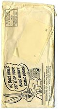 Bugs Bunny Mailing Envelope (Puffed Rice Giveaway) 0C