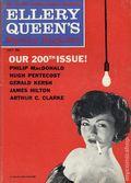 Ellery Queen's Mystery Magazine (1941-Present Davis-Dell) Vol. 36 #1