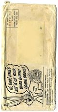 Bugs Bunny Mailing Envelope (Puffed Rice Giveaway) 0A