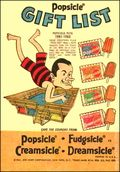 Popsicle Gift List (1961) Featuring Popsicle Pete 1961