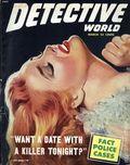 Detective World (1943-1981 Detective World Inc) True Crime Magazine Vol. 9 #3