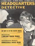 Headquarters Detective (1940) True Crime Magazine Vol. 11 #10