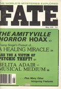 Fate Magazine (1948-Present Clark Publishing) Digest/Magazine Vol. 31 #5