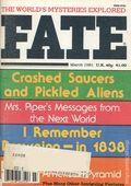 Fate Magazine (1948-Present Clark Publishing) Digest/Magazine Vol. 34 #3