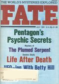 Fate Magazine (1948-Present Clark Publishing) Digest/Magazine Vol. 34 #7