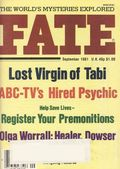 Fate Magazine (1948-Present Clark Publishing) Digest/Magazine Vol. 34 #9